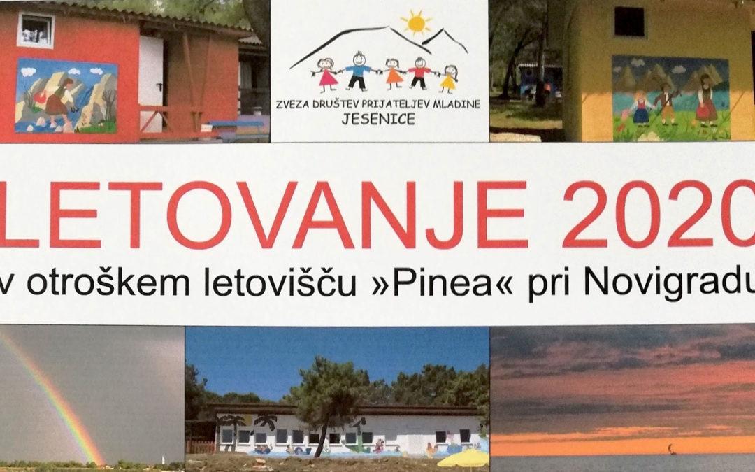 """LETOVANJE 2020 v otroškem letovišču """"Pinea"""" pri Novigradu"""