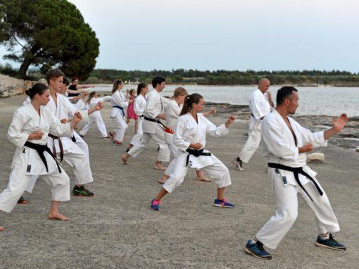 Karate klub Mi-Ki v Pinei 2016